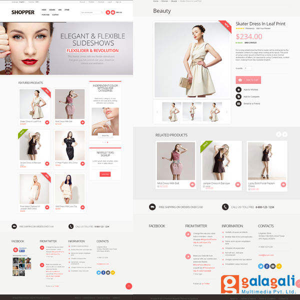 Customized Magento E-commerce Web Design and Development Services | Online Shopping Cart Websites