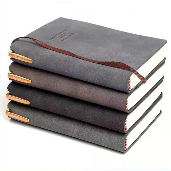 Personalizzato Soft <span class=keywords><strong>Touch</strong></span> in Pelle Scamosciata <span class=keywords><strong>Notebook</strong></span> con Il Supporto Della Penna
