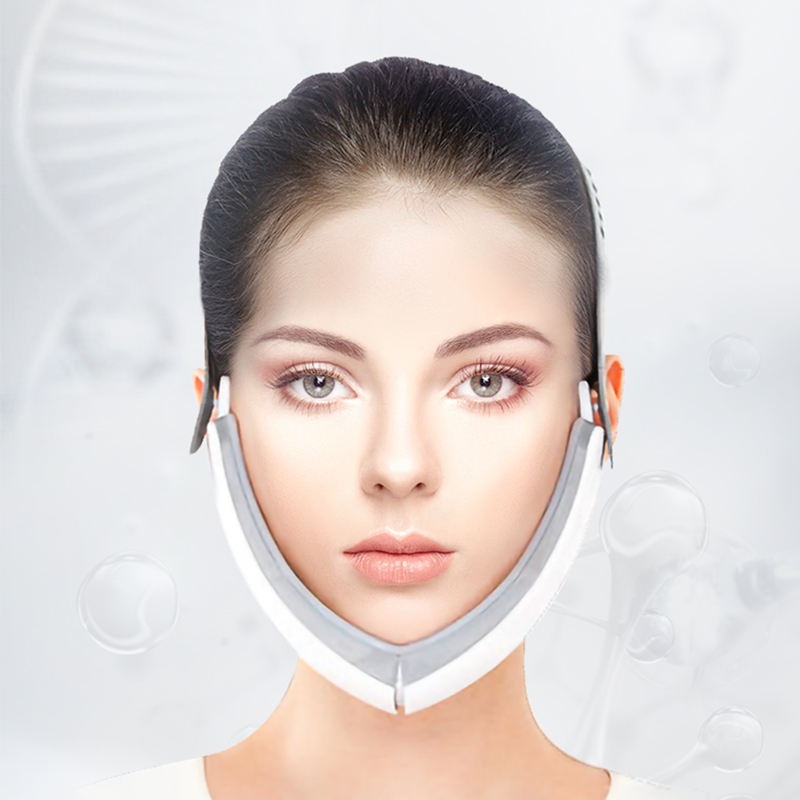 Vibration facial massage Slimming LED lights infrared V Face shaping Facial Facelift Beauty Light Instrument