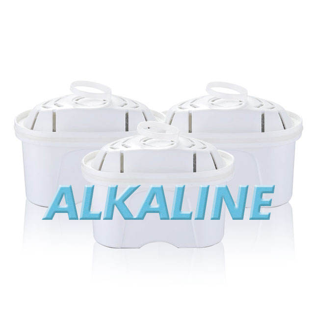 Alkaline <span class=keywords><strong>Water</strong></span> <span class=keywords><strong>Filter</strong></span>-Vervanging Pitcher <span class=keywords><strong>Water</strong></span> Filters Cartridge Verbeteren Ph