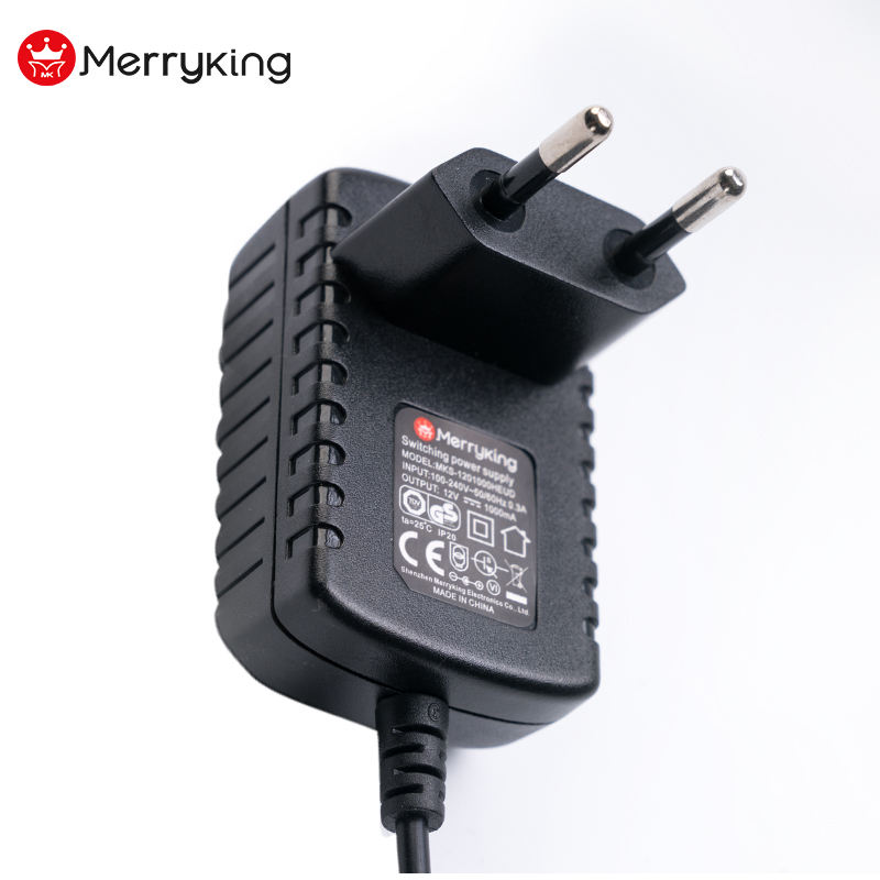 Merryking power supply 9V 12v 24V 0.5a 1A power adapter for led strip,modem