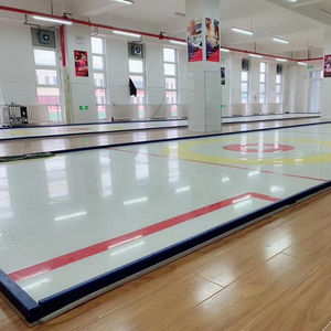 Shandong Huao curling game