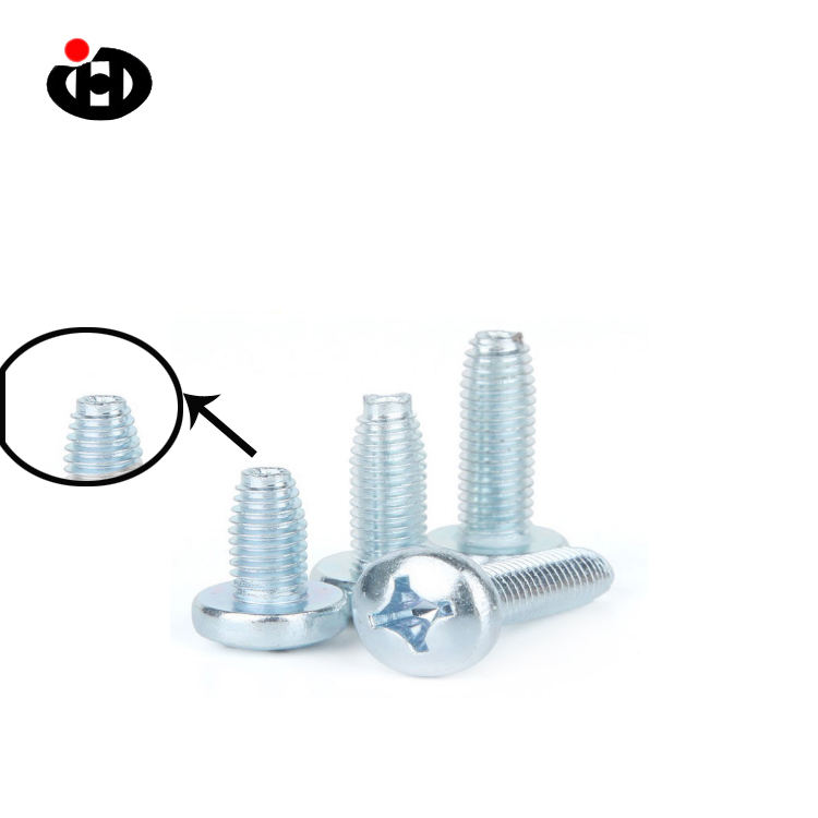 JINGHONG DIN 7500 Cross Recessed Pan Head Thread Rolling Screws