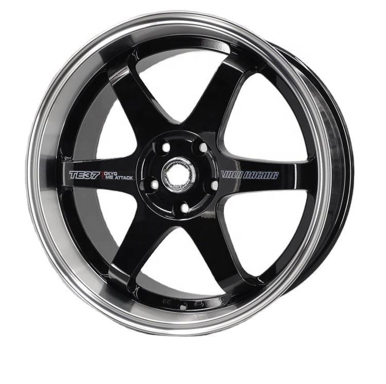 TE37 replica alloy volk wheels rim ,japan racing wheels te37 20