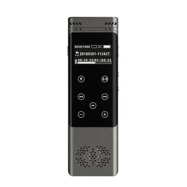 Portable Professional USB Aufladbare LCD Touch Screen Noise Reduktion Digital Voice Recorder Stereo Aufnahme