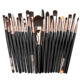 XINYAN High Quality cheap professional 20 pcs Makeup Brush set brochas ojos fondation eyeliner eyelash makeup kit for women