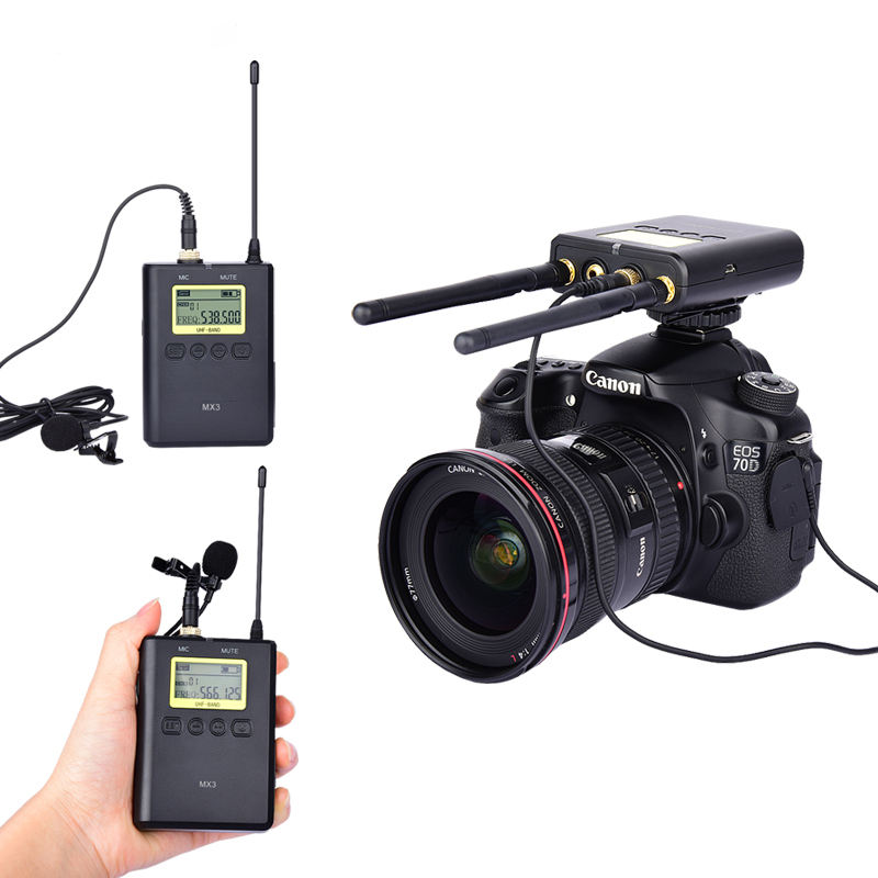 Outdoor High Sensitive Real-time Wireless Microphone
