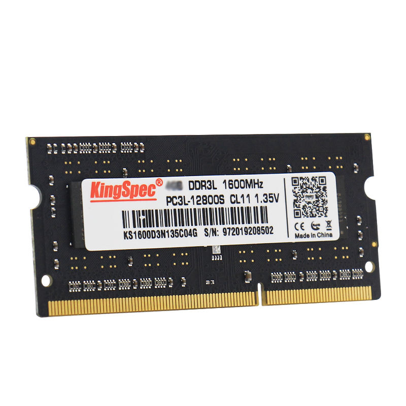 KingSpec 1600mhz pc3-12800 204pin sodimm ラム ddr3 8 ギガバイト