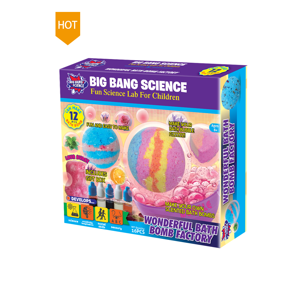 Fun DIY Toys Make Your Own Organic Fizzy Bath Bombs for Kids