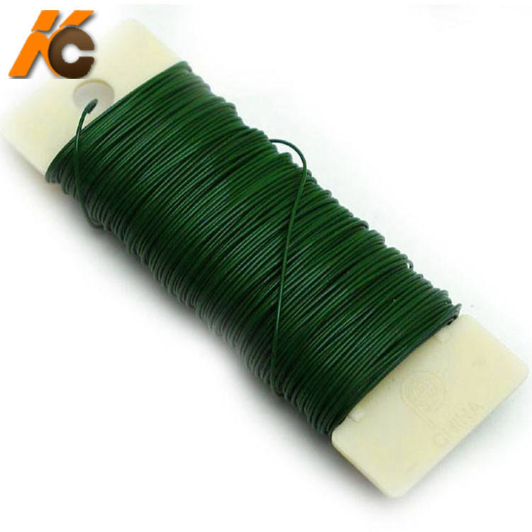 "Factory!!!!! KangChen Flower Wire Artificial Floral Wire Stem Flower Arrangement 16"", 24 Gauge"
