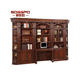 Painted Book Stand Solid Mahogany Wood Book stand For Display