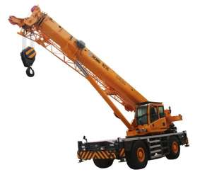 XCMG 35 ตัน Rough Terrain Crane RT35 Mobile Crane สำหรับขาย