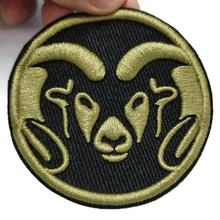 High density custom embroidered Woven patches for clothing