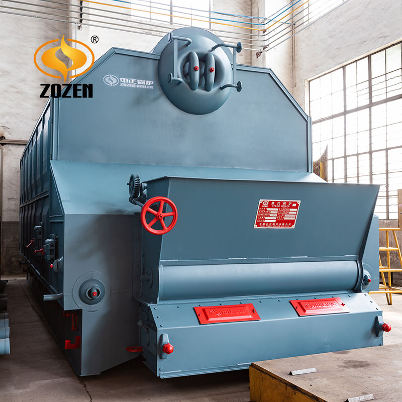 Automatic feeding Coal biomss Fired Chain Grate 6ton Steam Boiler