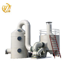 Spray Desulfurization Wet Spraying Purification Tower Gas Scrubber
