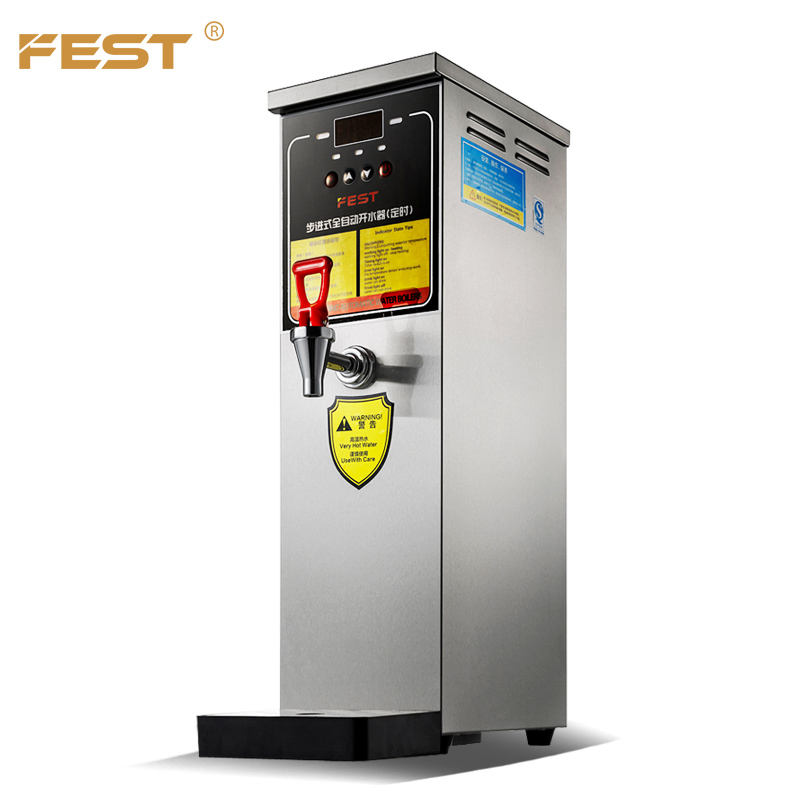 Fest Commerciële Drank Winkels Kokend Machine Verwarming Waterkoker Machine 30L Water Dispenser Voor Bubble Tea