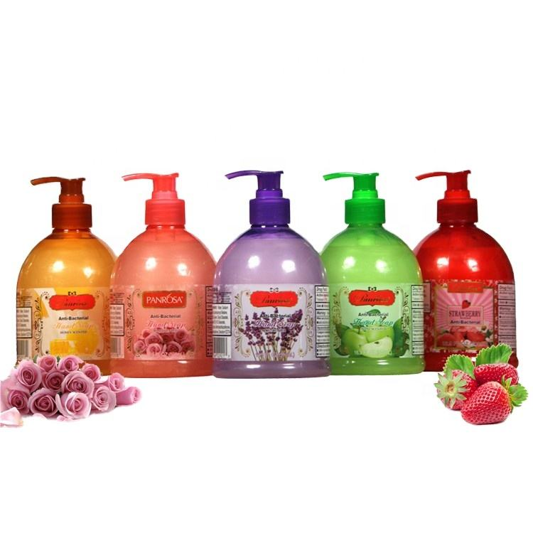 Multi smell 500ml natural extract liquid hand wash