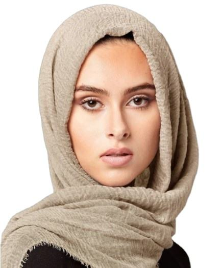 hot selling big size very soft wrinkle viscose hijab comfortable creped cotton muslim scarf crinkle hijab