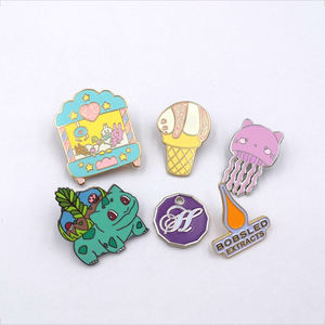 China Manufacturers Direct Custom Cute Metal Lapel Pin Enamel Pin Hard Enamel Lapel Pin