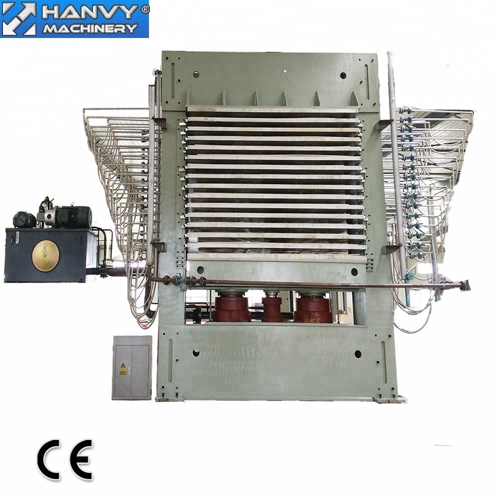 Hanvy 600ton Plywood Hot Press