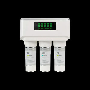 Under Sink LED light display pp ro water purifier filter
