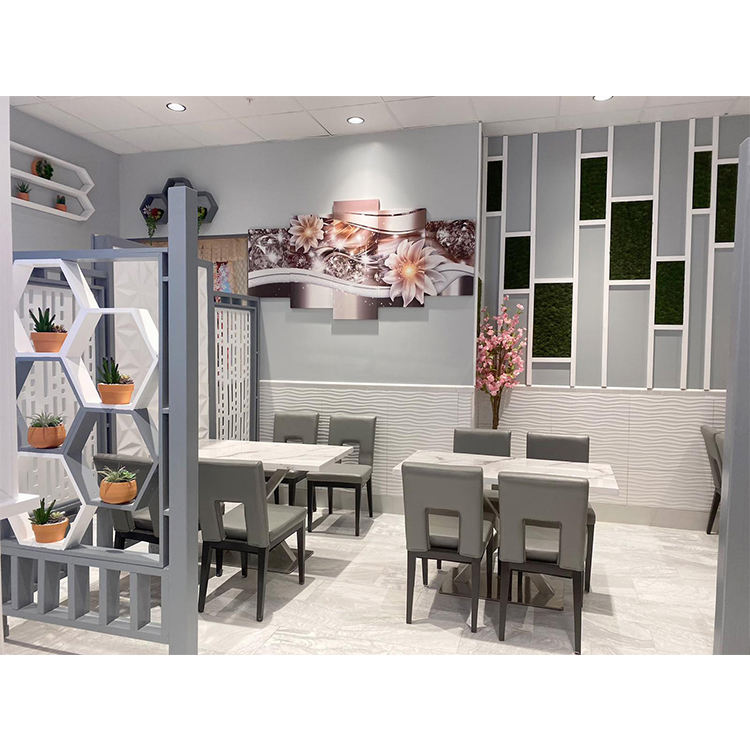 Fast food Dubai style E-CO friendly luxury restaurant furniture for Sushi restaurant table set