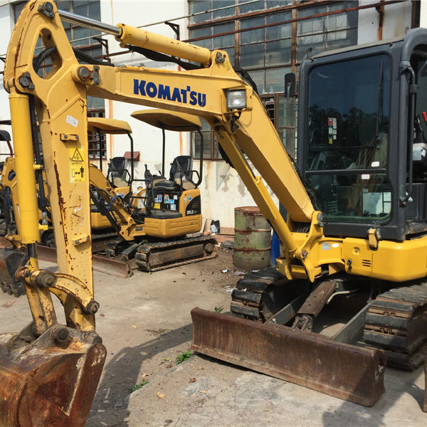 Used Komatsu 5.5ton small excavator Cheap Price Komatsu small digging machine PC55 PC60 Japan Made