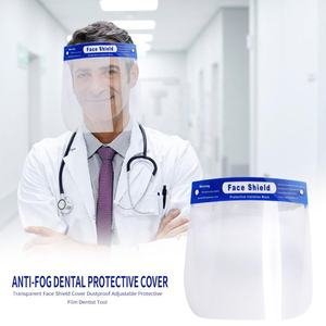 Full Face Mask Disposable Medical Protective Anti-fog Face Mask with eye shield