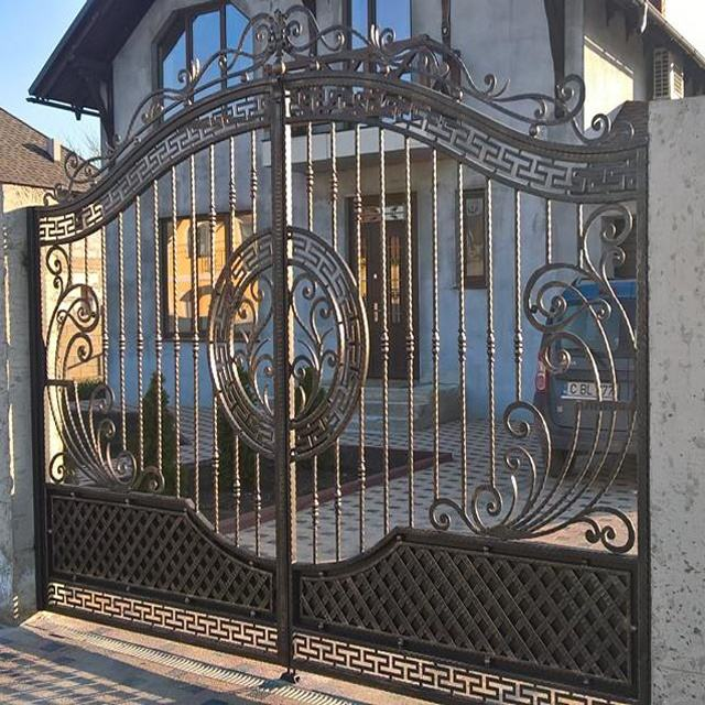 Discount Cheap Modern House Wrought Iron Main Gates Designs Simple Gate Design