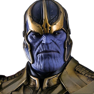 Marvel Movies 1/6 scale HC Thanos PVC model Action figure