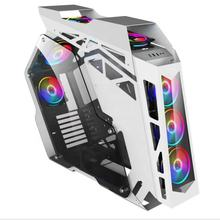 2019 Hot sales Tempered  Cool Modern Special Desktop PC Gaming Computer Case for Internet cafes Bar E-sport