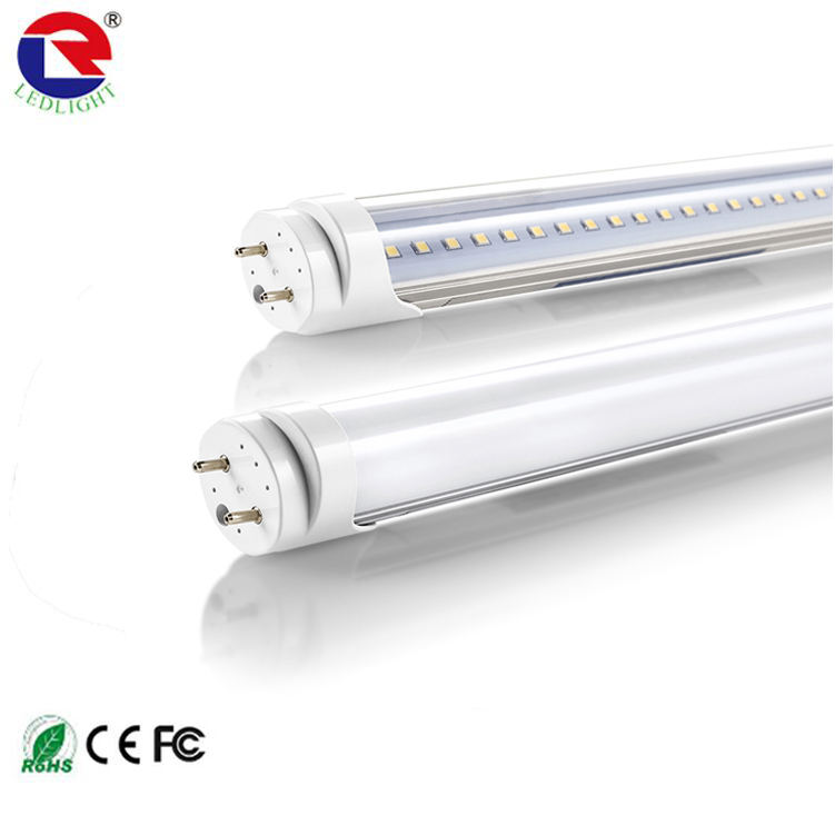CE RoHS 1200mm 4ft 18w 0-10V triac dimmable led tube T8 internal driver led aluminum+pc T8 tube light
