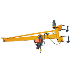 Electric Wire Rope Hoist 1Ton 2Ton 3Ton Wall Mounted Jib Crane For Sale