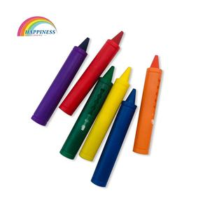 Non-toxic colorful Bath Crayons For Kids Gift Wax Crayon