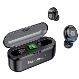 F9 Multi Color Wireless Earbuds Light Mini Sports Fingerprint Touch TWS Stereo Earphone Headphones With Bluetooth 5.0