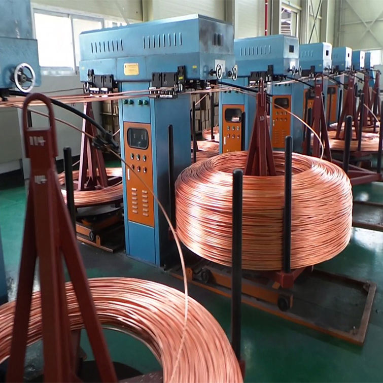 New Design Copper/Brass Rebars/Rod/Pipe Vertical/ Horizontal Continuous Casting Machine
