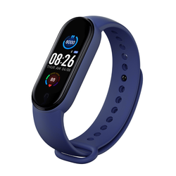 YLW New Hot BT 0.96 Inch TFT Color Screen  M5 Smart Band Watchwith Heart rate/BP /BO monitor
