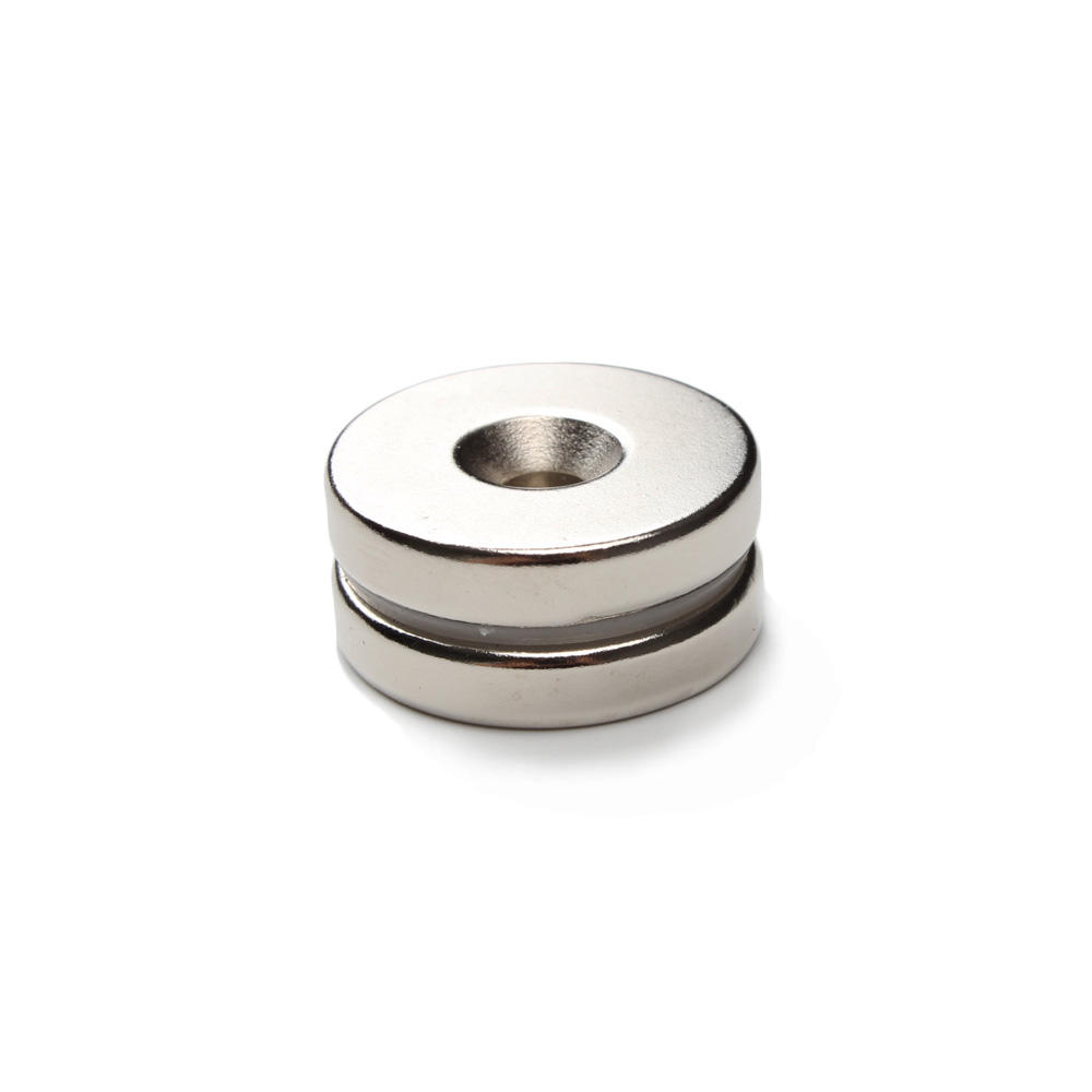 2019 hot selling rare earth n52 ndfeb countersunk 15mm neodymium magnets for sale