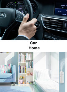 SCENTA Smart Aroma Diffuser Portable Mini Electric Fragrance Oil Vent Clip Eco-friendly Car Air Freshener