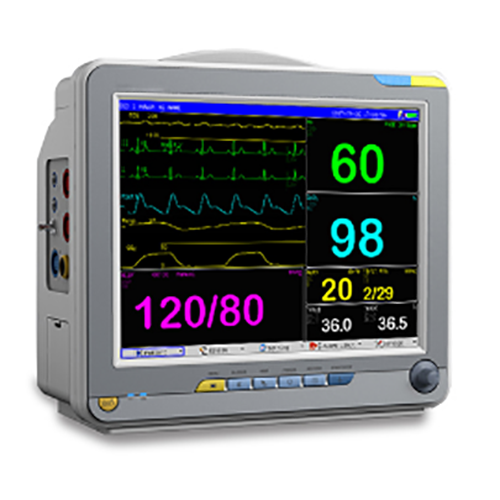 Good Quality cheap 12.1 inch multi-parameter ambulance patient monitor