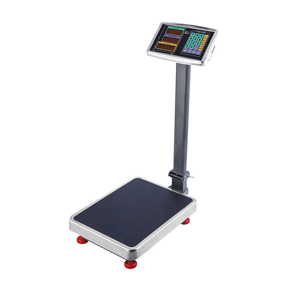 Factory Price Calibration Digital Bench Scale TCS-A16 100kg 150kg 200kg Comercial Platform Weighing Scale