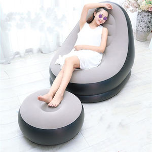 indoor portable air sofa chair for sleeping rest inflatable sofa bed