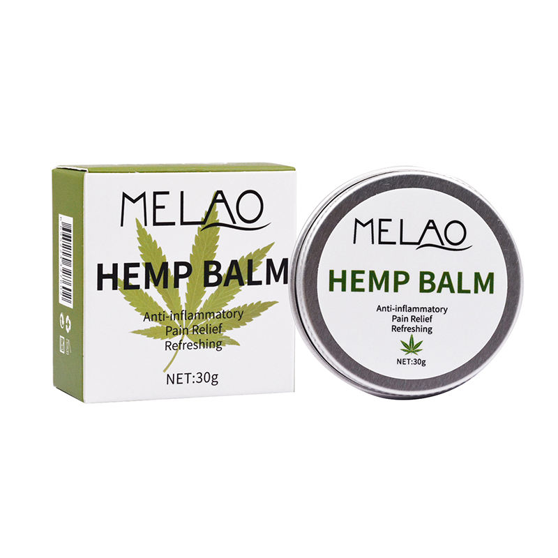100% Natural Organic Hemp Oil Face Scrub Hemp Skin Cream Hemp Balm For Face Body Skin Care