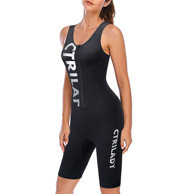 High Quality Sleeveless Diving Suit Neoprene Women Swimming Wetsuit
