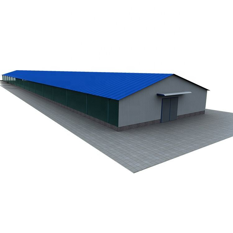 International animation museum with steel structure building cheap automatic system modern design drawing chicken coop