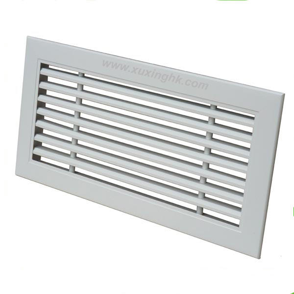 high quality air conditioning 0 15 30 degree aluminum linear bar exhaust air outlet grille
