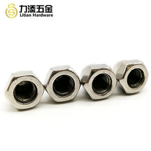 DIN1587 stainless steel 304 m8 flange dome cap nut polished M16 decorative domed hex end cap nut