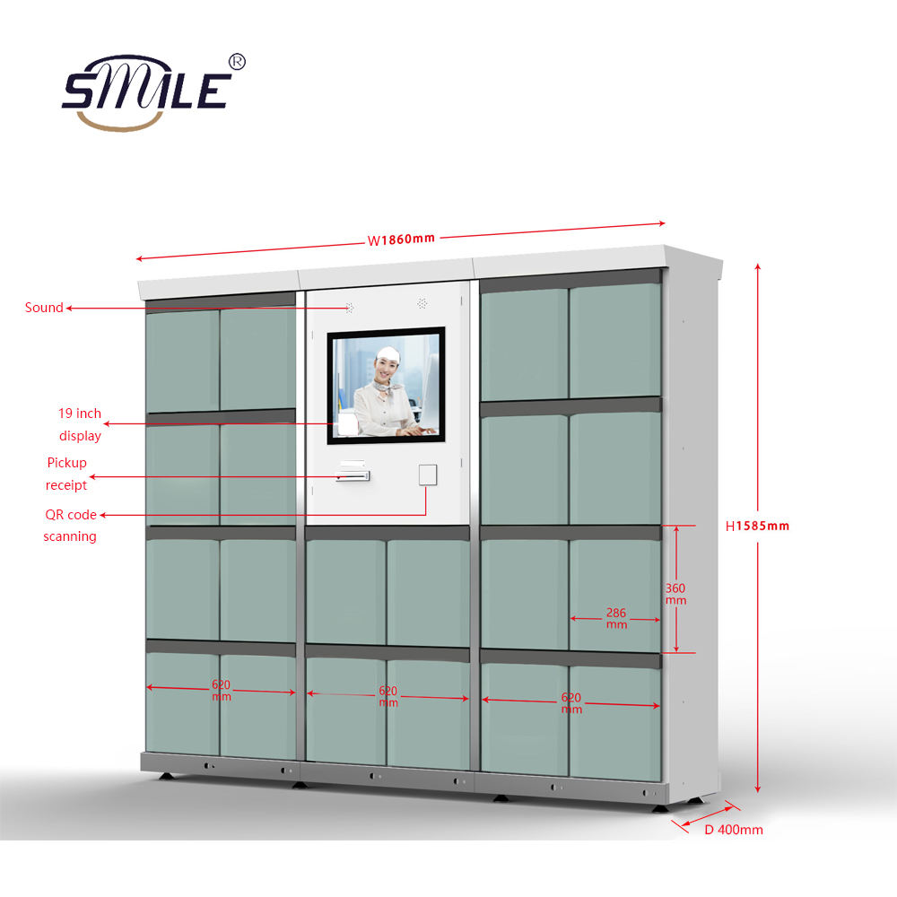 Three hot-selling package locker parcel customized electronic parcel locker contact customer service for locker parcel details
