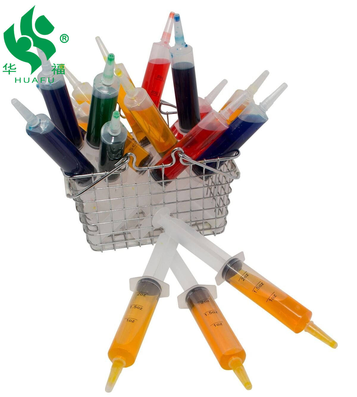 Reusable Jello Shot Syringes W Leakproof Caps For Drink Shots & Shooters 2oz 25 Tube Gastrostomy