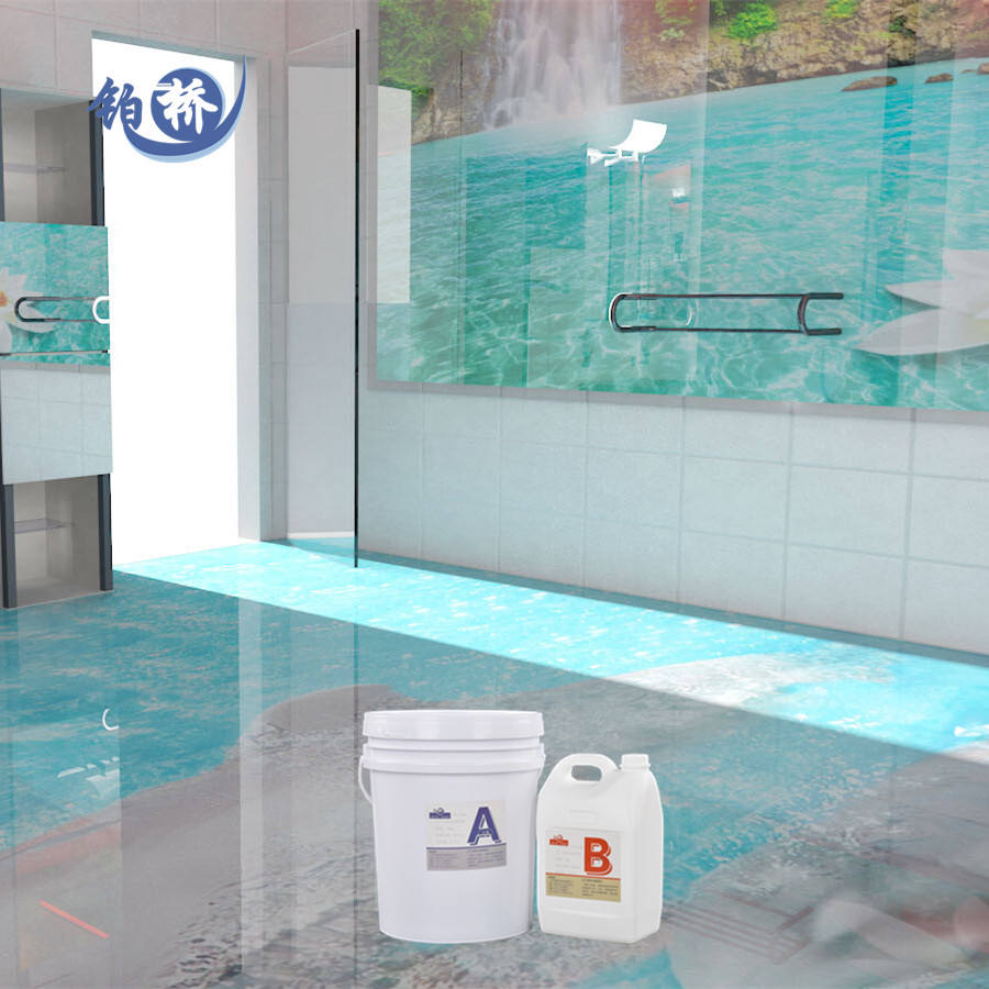 Direct Manufacturer Crystal Clear Epoxi Resin Price liquid Epoxy Resin For 3D floor